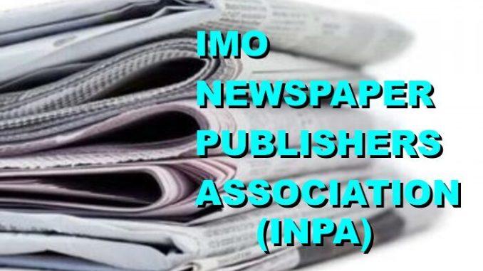 IMO NEWSPAPER PUBLISHERS ASSOCIATION