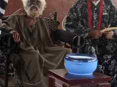 MEET THE OLDEST MAN IN UMUOMA NEKEDE AT 108 AS MONARCH PAYS PRE-NEW YAM VISIT WITH ELDERS IN COUNCIL