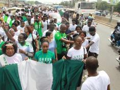 Nigeria Solidarity march