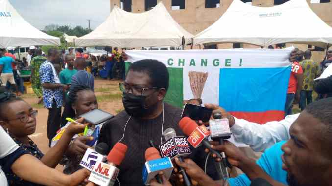 THERE WAS NO INCIDENT OF DIVISION, BANDITRY OR VIOLENCE AT THE JUST CONCLUDED APC CONGRESS -IMO PAST DEPUTY GOVERNORS