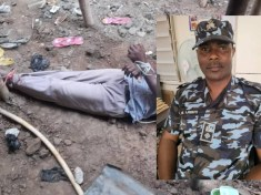LAGOS POLICE RESCUE DEBTOR TIED TO A STAKE OVER ₦4.6M DEBT
