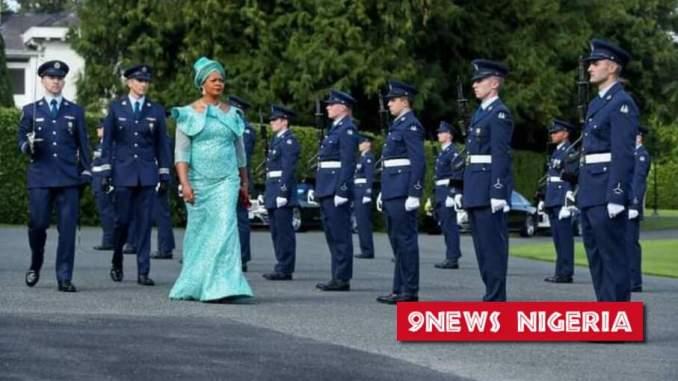 Meet Nigerian Female Ambassador to Ireland Ijeoma Ariamanwa on her official visit to President Michael Higgins