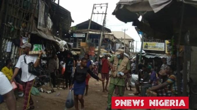 Onitsha Market Traders Protest Illegal Structures In Ochanja