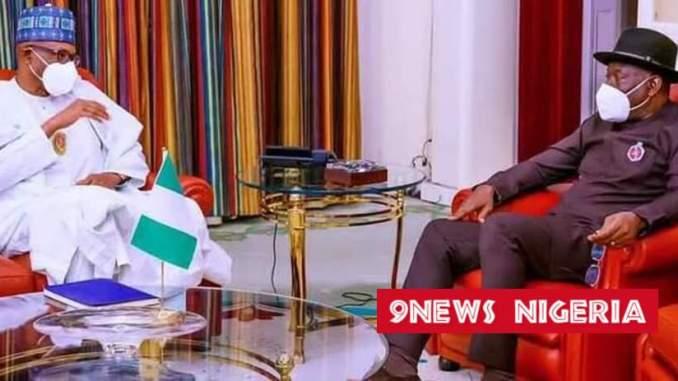 President Buhari, Goodluck Jonathan met behind closed doors as transition plans thicken