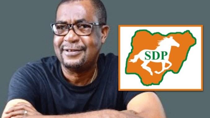 The National Chairman, Social Democratic Party, Dr Olu Agunloye