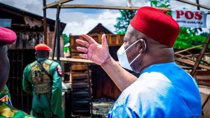 Gov. Uzodimma Commiserates With Victims Of Izombe Violence, Pledges To Reconstruct Damaged Houses