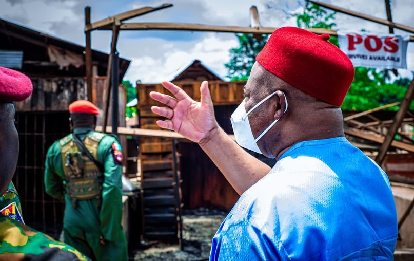 Uzodinma to Izombe people: Return to your communities, for I will rebuild all that was destroyed