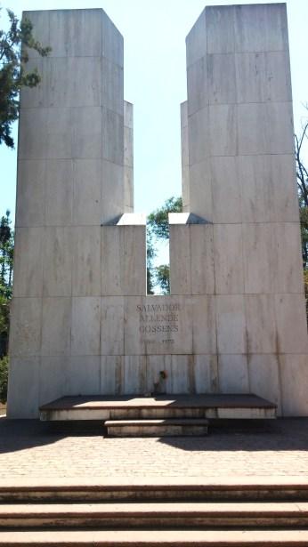 Salvador Allende's grave