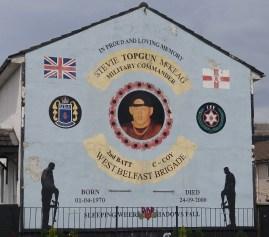 Memorial for UDA/UFF commander Stevie McKeag