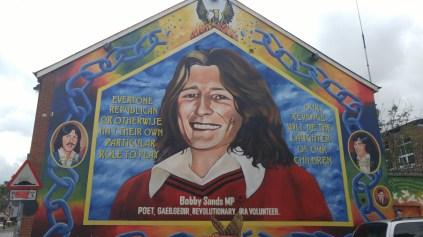 Memorial for IRA martyr Bobby Sands