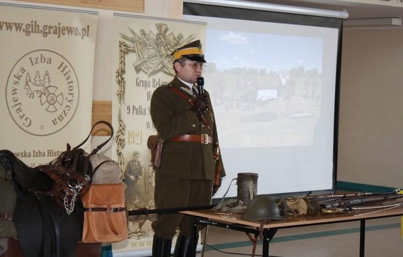 28.03.2012 r. – Lekcja historyczna w Białej Piskiej