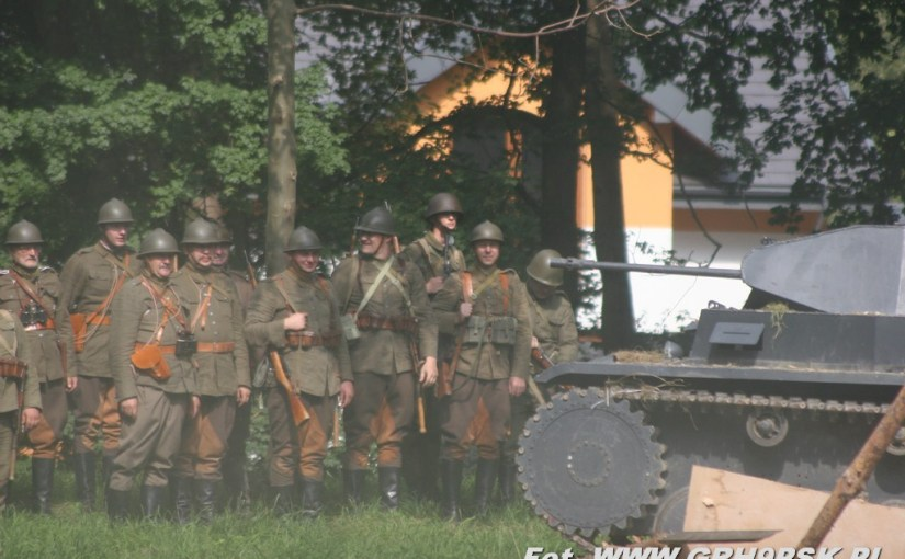 """13.09.2014 r. – """"Bitwa Ołtarzewska"""" z udziałem GRH 9 PSK"""