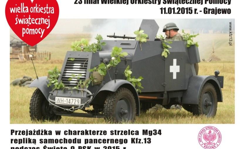11.01.2015 r. – 23. finała WOŚP