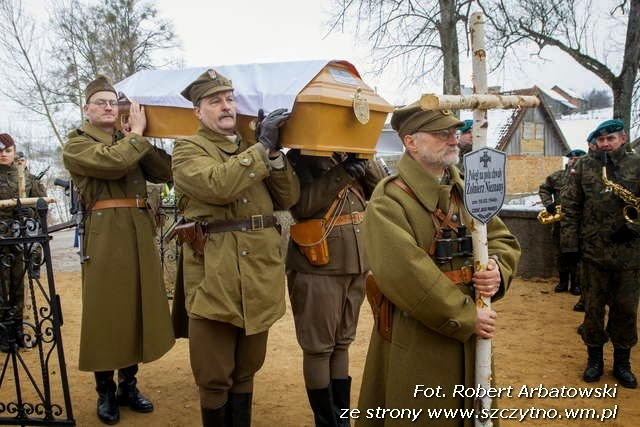 15.02.2015 r. – Pogrzeb żołnierzy niezłomnych
