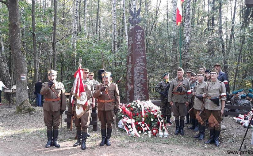 75 rocznica bitwy 9 Pułku Strzelców Konnych Armii Krajowej z Niemcami w rejonie Osowe Grzędy – 8 września 2019r.
