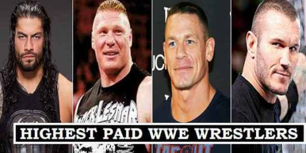 highest paid WWE wrestlers