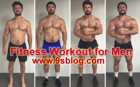 4 Week Fitness Workout For Men To Improve Levels