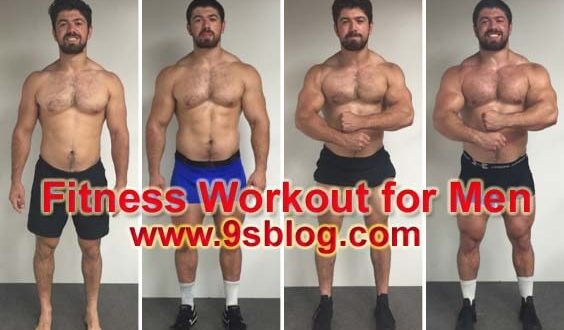 4-Week Fitness Workout for Men to Improve Fitness Levels