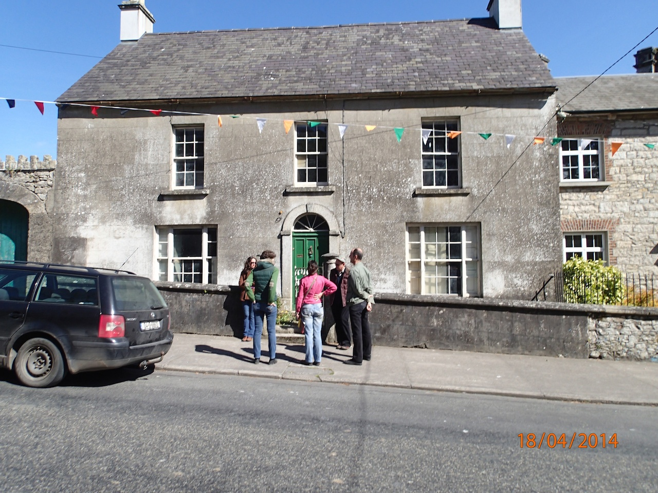 9 Stones Exhibition At 'Borris Town House' During Borris House