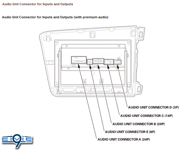 93 honda civic radio wiring diagram