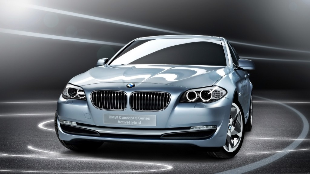 BMW 5 Series Blue Pearl Wallpaper 1080p-Free HD Resolutions
