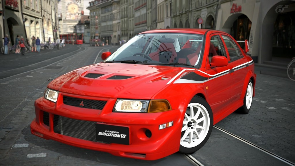 Mitsubishi Lancer Evolution HD Wallpaper-1080p For Desktop