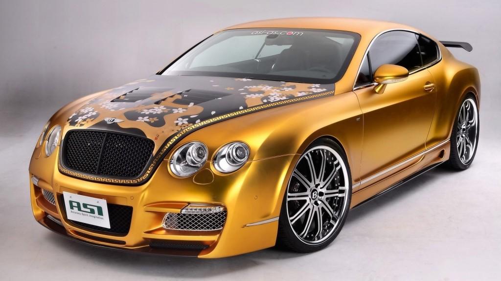 Golden Bugatti Veyron Wallpaper 1080p