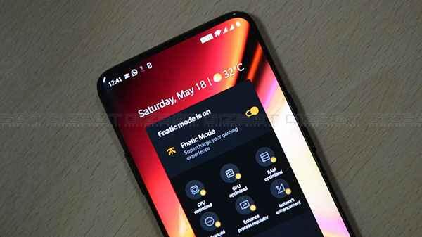 OnePlus 7 Fnatic mode