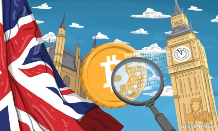 Cryptocurrency investors bank in London value