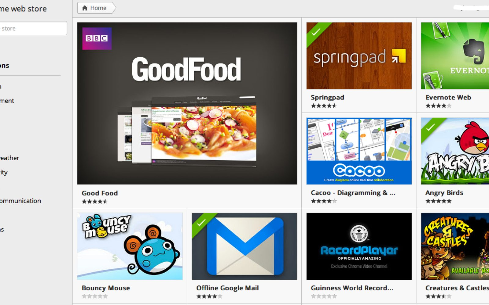 Chrome Web Store gets a facelift - 9to5Google