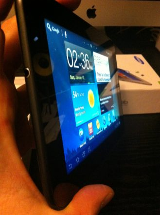 Galaxy Tab 7 Plus Side 2