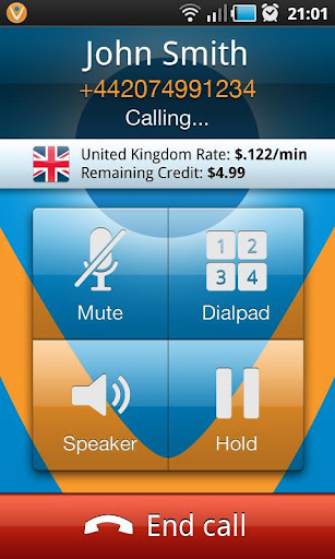 Vonage calls know where to find you