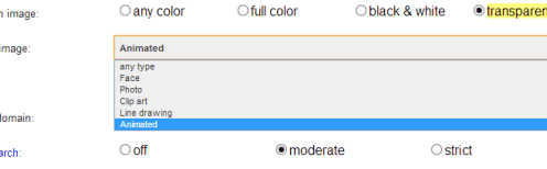 New Filter Options