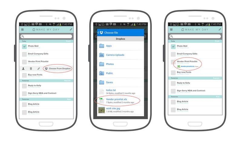 Dropbox-API-Android