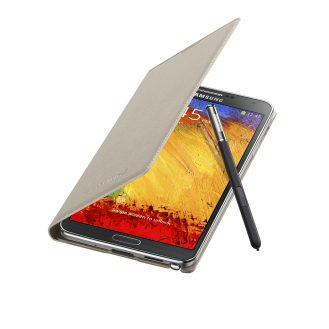 Galaxy Note3 FlipCover_004_Open Pen_Oatmeal Beige