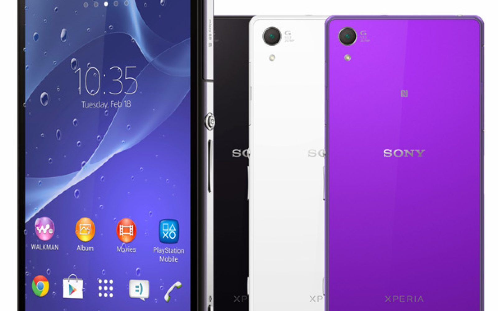 separation shoes 72854 14f3d Sony announces 4K capable Xperia Z2 waterproof phone & tablet ...