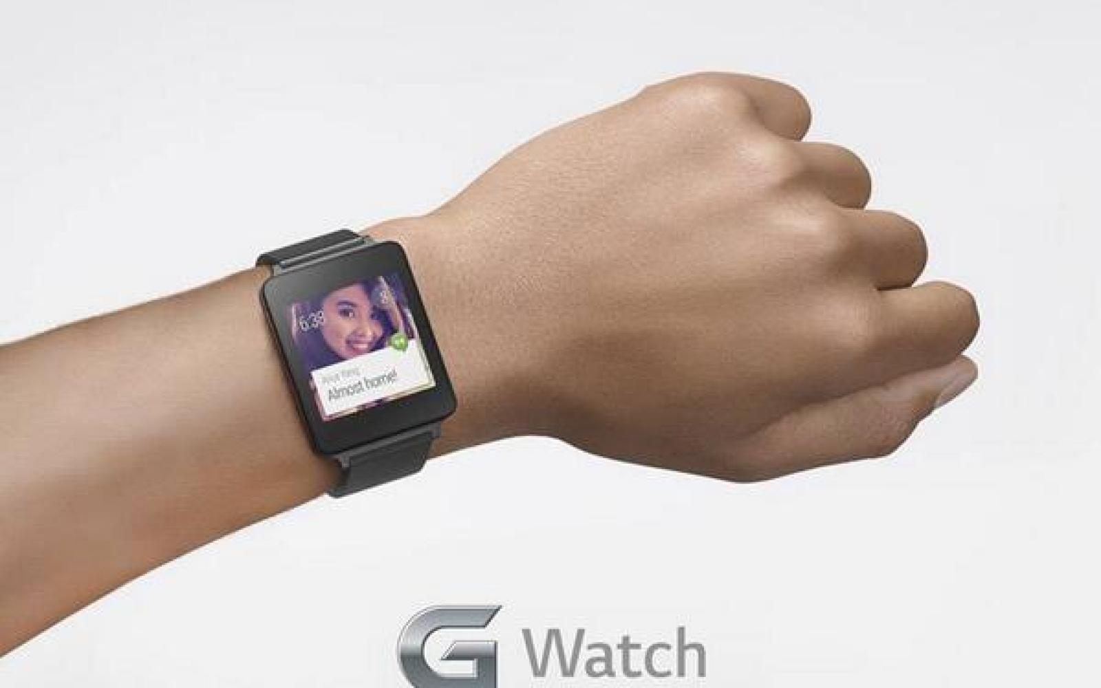 LG shows off its upcoming 'G Watch' in new image, 240ppi 1.65inch screen rumored