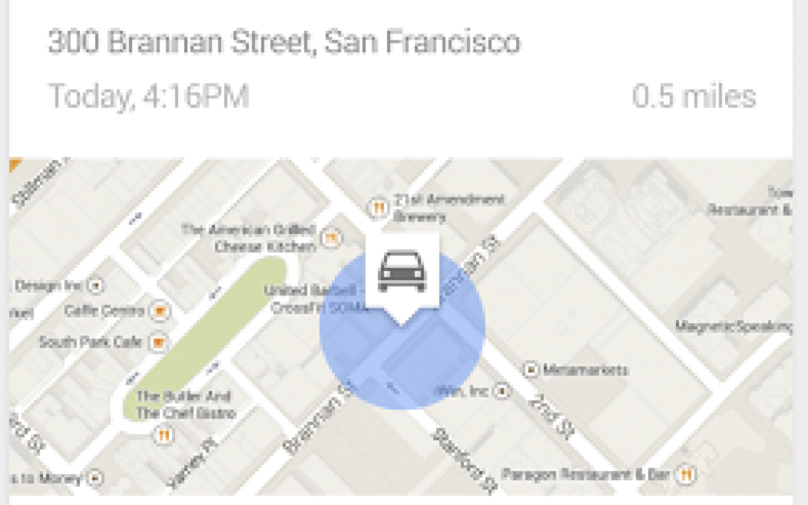 Google Search updated with ability to remember where you parked