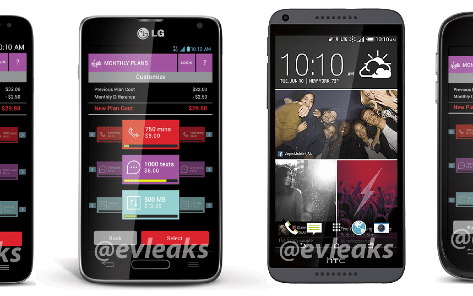 HTC Desire 816, ZTE Emblem, LG Pulse and Unify reportedly