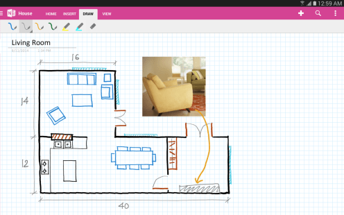 Drawing-with-OneNote