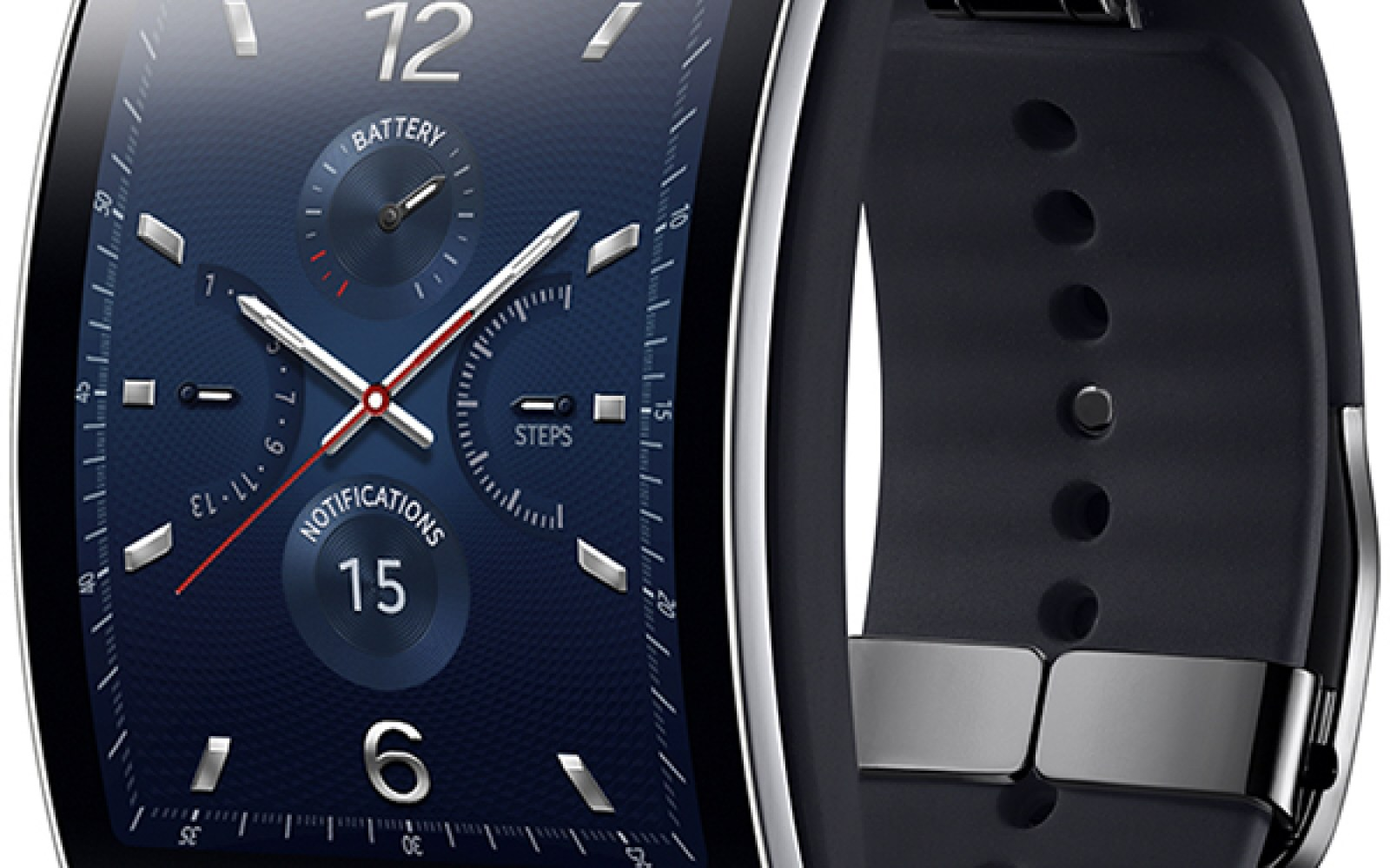 Samsung announces curved Gear S smartwatch, shipping in ...