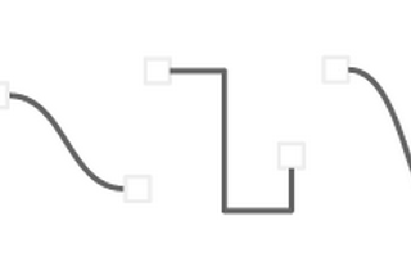 Google Drive Now Supports Curved And Elbow Connector Lines In Process Flow Diagram Docs Drawings Slides