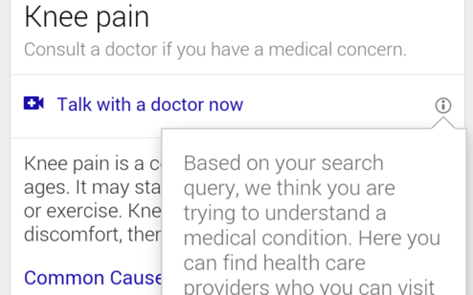 Google trialling free video chats with doctors when you search for symptoms