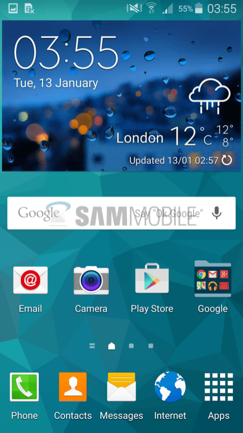 Galaxy S5 Android Lollipop 1