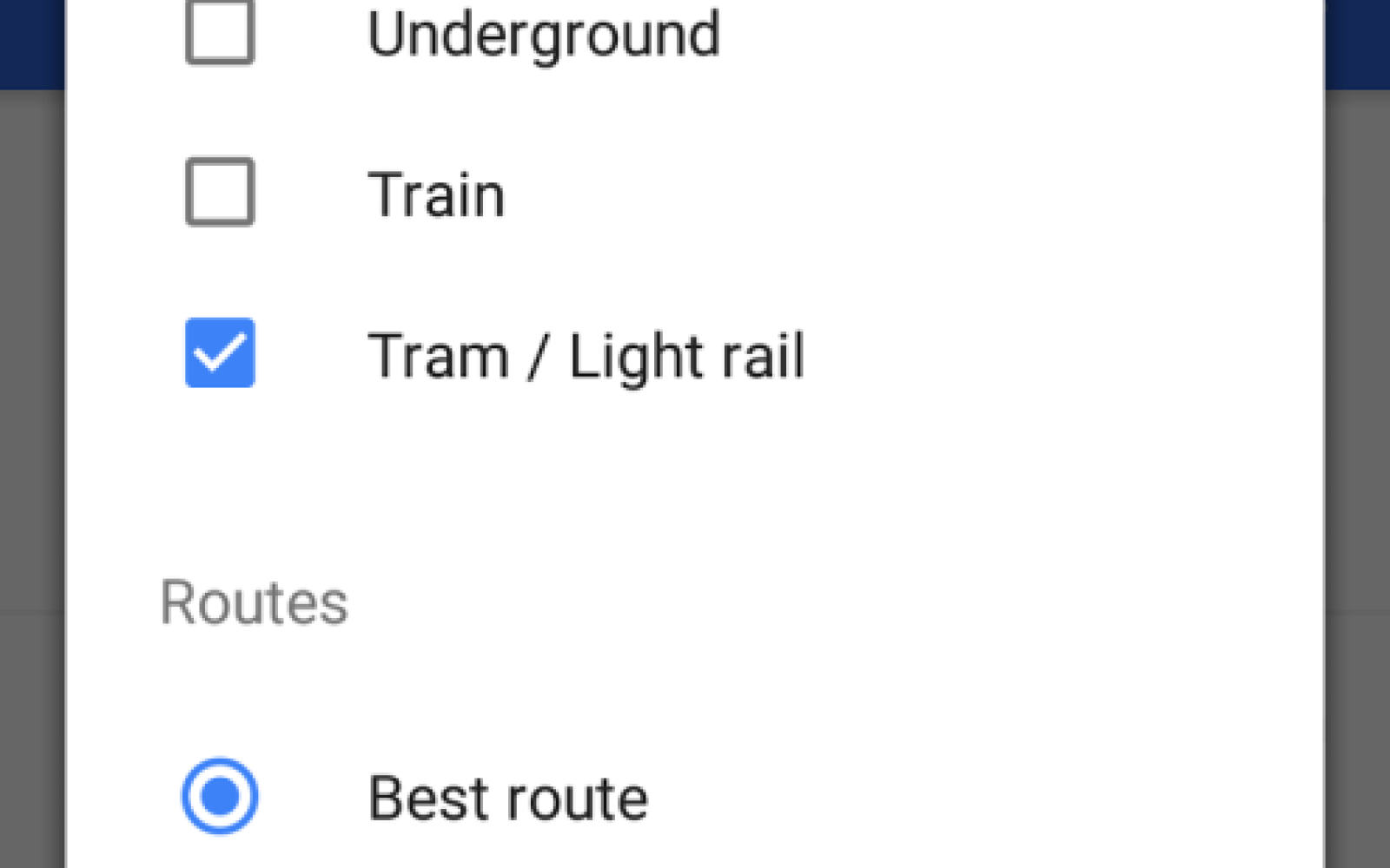 Google Maps APIs gain improved transit directions for