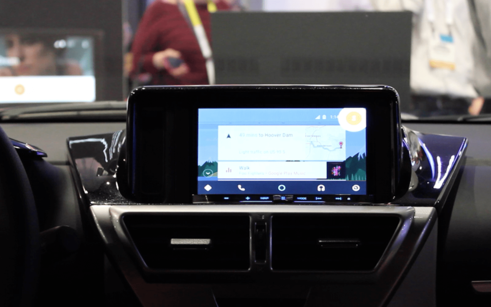 CES 2015: Hands-on with new aftermarket Android Auto