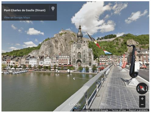 Google Street View Belgium