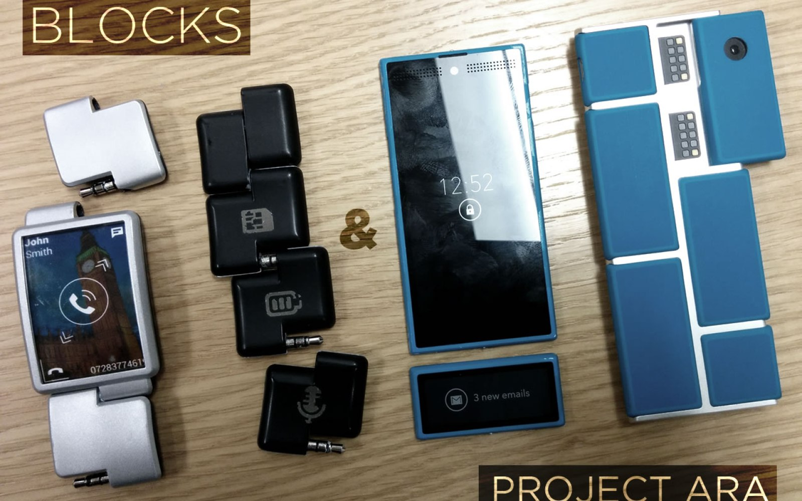 Google potentially working w/ BLOCKS smartwatch team to build cross platform Project Ara modules