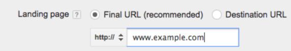 Upgraded URLs