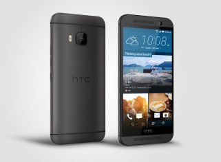 HTC One M9_Gunmetal_Right